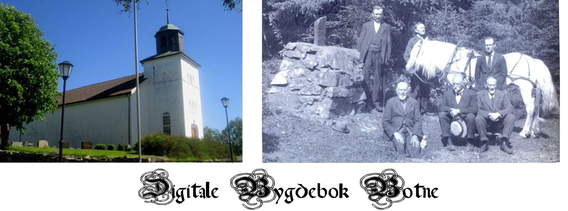 Botne slekter . Botne ble opprettet som formannskapsdistrikt i 1837, og ble slått sammen med Holmestrand den 1. januar 1964.